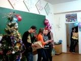Из истории 11б. Празднование Нового года в 7 классе. Выступления-  сюрпризы